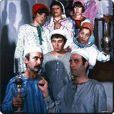 """Şabanoğlu Şaban"""" film setinden - 1977"""