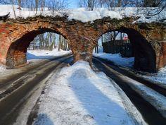 Взгляд из прошлого #арки #дорога #кронштадт #март #стена