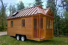 Tiny house on wheels.