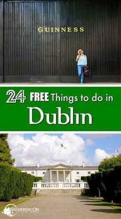 """Travel plans in the capital city of Ireland? Check out our post """"24 Free Things to Do in Dublin"""" for all the must-see attractions and what to do in Dublin on a budget. #dublin #ireland #traveltips"""