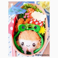 Raincoat Girl Bento