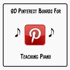 The Piano Studio: 80+ Pinterest Boards For Teaching Piano
