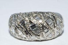 14-990-2-43Ct-Natural-Diamond-Cluster-Ring-18K-White-Gold