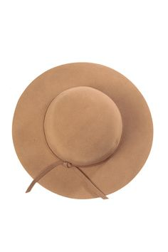 Brown Camel Wool Floppy Hat   CiciHot  30 Stylish Clothes For Women 757c16022457