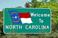 welcome to north carolina state sign - Google Search