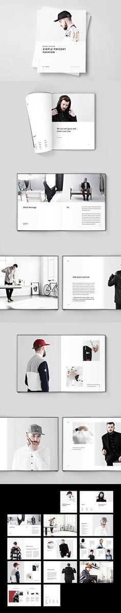 Fashion Brochure. Proposal Brochure Templates. $15.00