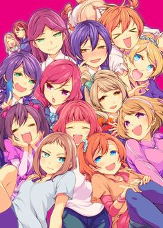 Love live μ's and A-rise