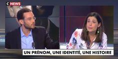 """Clément Viktorovitch et Charlotte d'Ornellas ce jeudi soir en plein débat sur """"l'immigration massive"""" en France. Charlotte, France, Thursday, French"""