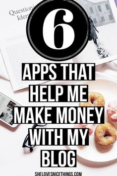 Best Free Apps for Bloggers - these apps allow me to work from anywhere AND make money from my #blog :) #blogging #bloggers #blog
