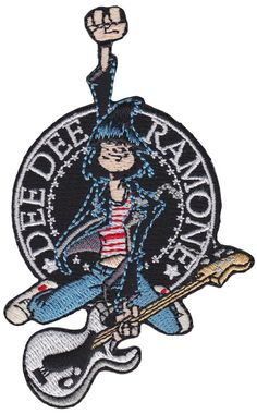 DEE DEE RAMONE HOP PATCH $6.00 #accessories #patch #punk #ramones #deedeeramone