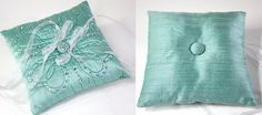 DIY Wedding Sparkle with Artistic Crystals: Ring Bearer's Pillow | Sew4Home