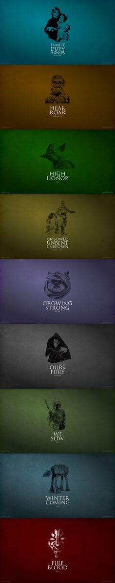 A Game of Clones: #GameOfThrones vs #StarWars mashup #wallpapers. Download the full HD resolution versions at www.mylittlegeek.com/goc