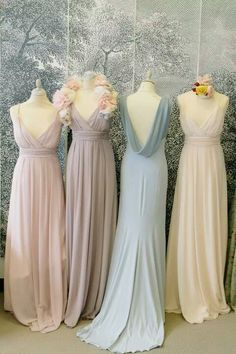 Chiffon Prom Dress,Long Prom Dress,Fashion Bridesmaid Dress,Sexy Party Dress, New Style Evening Dress