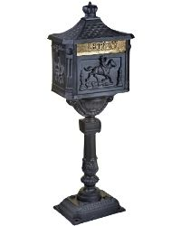 Victorian Postbox & Stand