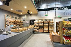 Alma grocery by MOCO LOCCO, Krakow   Poland store design