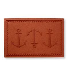 Novelty Waterhog Doormat, Anchor