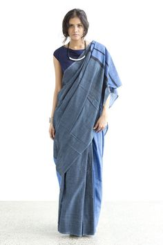 Denim Saree - 03 - Immediate Shipping - Order Now