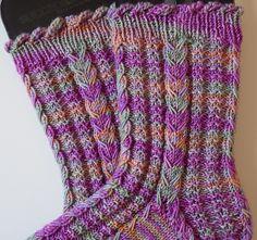Ravelry: Breaking Hearts Socks pattern by Cristi H. Brockway - Five dollars for pattern