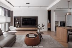 Living room interior storage and interior at the same time! Tv Wall Design: Yes … – Typical Miracle Apartment Interior, Living Room Interior, Home Living Room, Living Room Decor, Tv Wall Design, House Design, Living Room Tv Unit Designs, Interior Design Tips, Simple House