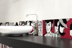 19 fantastiche immagini su piastrelle bagno interior decorating