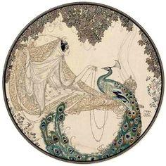 fevrale-dostat-chernil-i-plakat: Pavel Petrovich Ivanov - Scheherazade Peacock Painting, Peacock Art, Albino Peacock, Peacock Feathers, Art Nouveau, Art Deco, Storybook Wedding, Illustration Story, Arabian Nights
