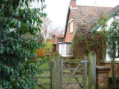 Left side of C. Lewis' home. Joy Davidman, Hard Times, Don't Give Up, Country Life, Wales, Real Life, Oxford, England, House Styles