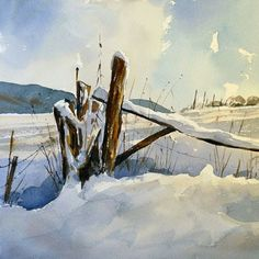 wolfgang baxrainer aquarelle - Google Search