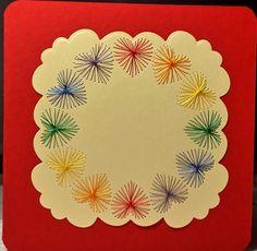 Herzen 06 Rainbow - in den Farben der Regenbogenfahne - Copyright des Motives: Diana Hutchinson - Größe der Karte 13,5 x 13,5cm