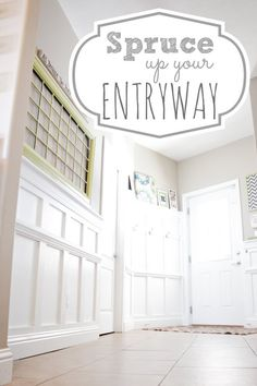 Entryway Design - Spruce Up Your Entryway with Board & Batten