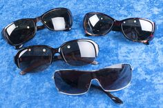 MISCELLANEOUS LOT OF SUNGLASSES, MOST TORTOISE SHELL FRAMES. ONE PAIR SIGNED JACK NICKLAUS - MADE IN ITALY. GREAT LOT