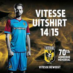 Vitesse Arnhem Macron Away Kit Football Shirts, Sports Shirts, Soccer, Kit, Mens Tops, T Shirt, Supreme T Shirt, Sport T Shirts, Futbol