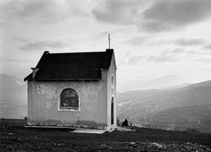 Bosnia Art | Chapel in the hills overlooking Travnik, Bosnia, 2003