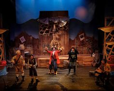Mayflower Productions have just released a smashing set of production photos of the new Here Be Monsters stage show created by Robin Be. Stage Show, Scribble, Monsters, Photos, Pictures, Street, News, Illustration, Painting
