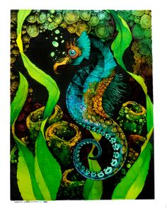 seahorses pictures | Art by Samantha DeCarlo: New Seahorse