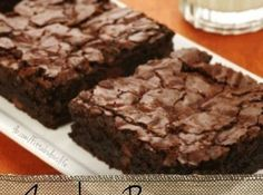 Zucchini Brownies - Weight Watchers 7 points if make 12 brownies, 4 points if make 20 brownies