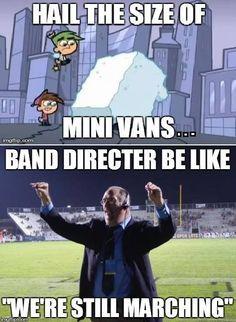 Marching Band Problems (Band Professor at GVSU)