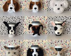 Dog Lover Gifts Dog Crochet Patterns Crochet Kits by HookedbyAngel