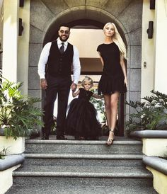 """Timati, Alisa, & Alena Shishkova - """"Happy Birthday, baby!!! Let fulfilled all your dreams!!! Daddy and I love you very much!!!❤️❤️❤️❤️❤️❤️"""""""