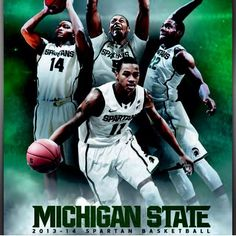 . So excited #MSU #Spartans #MSUBasketball started!