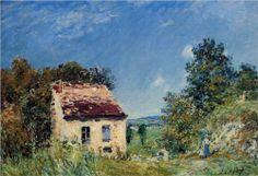 Abandoned House - Alfred Sisley