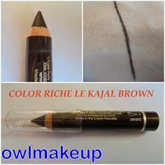 Color Riche Le Kajal Brown.