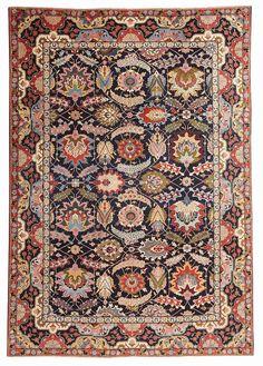 Antique Tabriz Persian Rug #44618  http://nazmiyalantiquerugs.com/antique-rugs/persian-antique-rugs/