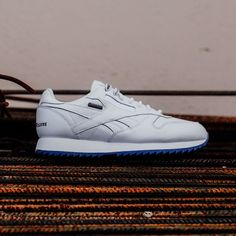 8f77ac1cd63  Reebok X  RaisedByWolves CL Leather Ripple GTX (White White-Ice) -  150  Available In-Store and Online Now rockcitykicks.com