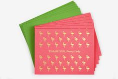 Thank you cards by The Social Type for all the Christmas presents you got, you overachiever, you. www.mooreaseal.com