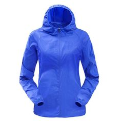 Ultra light Hooded Windbreaker Running Jacket - Women s 8d45cdfa2