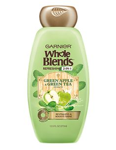 Refreshing 2-in-1 Shampoo with Green Apple & Green Tea extracts 12.5 FL OZ