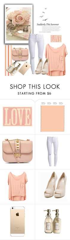 """""""I Realized That I Loved You.."""" by fiandapie ❤ liked on Polyvore featuring Valentino, ONLY, Nly Shoes and Pier 1 Imports"""