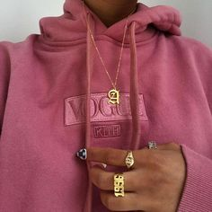 # objectifs # rose # or # collier - Frauenstreet style Fashion 90s, Look Fashion, Winter Fashion, Fashion Outfits, Womens Fashion, Girl Fashion, Pink Outfits, Fashion Hair, School Fashion