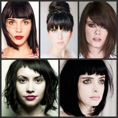 Bangs to Flatter Your Features: http://stylenoted.com/bangs-to-flatter-your-features/#