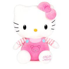 "Authentic Sanrio Cat Character Hello Kitty Pink teddy 48cm 19"" Plush Doll  #Sanrio"